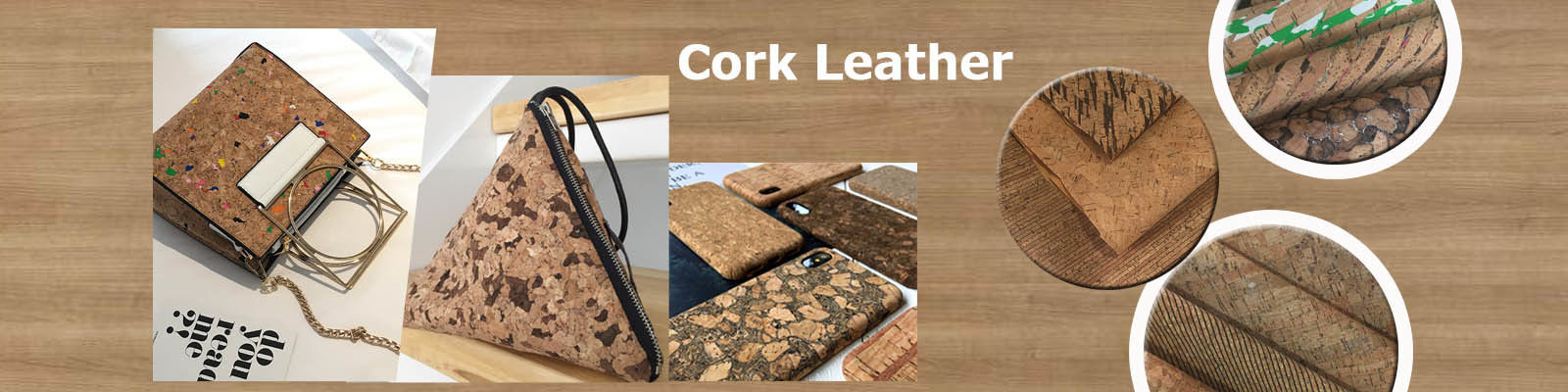 China best Cork Leather Fabric on sales