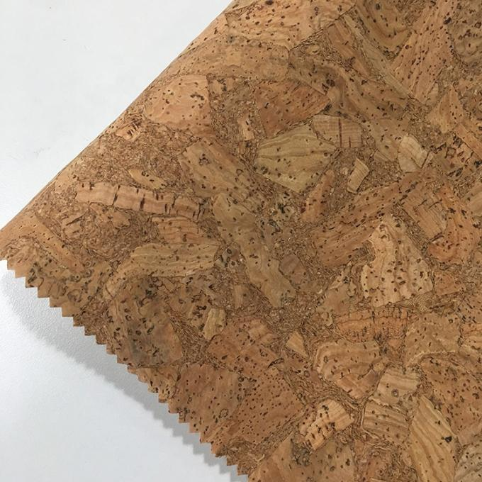 Decorative Cork Material For Sewing Hot Stamping Long Durability Professional