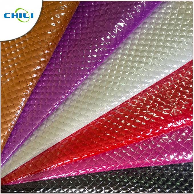 OEM Synthetic Leather Fabric Waterbase Vegan Smooth Tough Flexibility Foiled