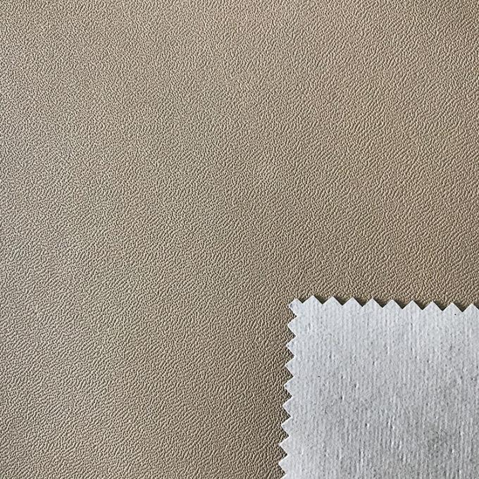 Lightweight Plastic Leather Upholstery Fabric Special Edge Design Non Woven