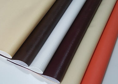 Multi Color  PVC Leather Fabric Fasionable Custom Thickness For Shoes Lining