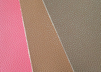 China Mildewproof  PU Leather Fabric CLB309 Model Customized Color 137cm Wide factory