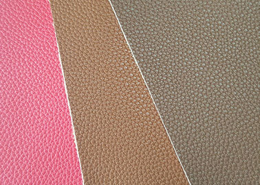 Mildewproof  PU Leather Fabric CLB309 Model Customized Color 137cm Wide
