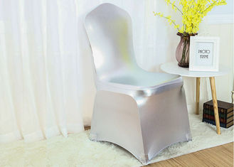 China Soft Touch Chair Covers And Sashes Cloth Sliver Commecial Reusable factory