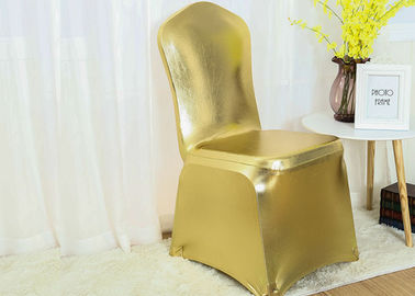 China Lycra Spandex Chair Covers Dust Proof Easy Cleaning Quick Drying Smooth factory