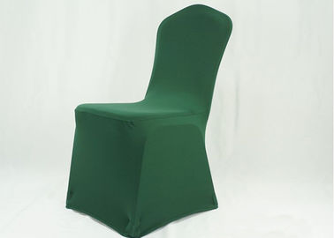 China Eco Friendly Banquet Chair Covers 300GSM Spandex Nylon  Hotel Party Banquet Lycra factory