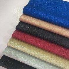 Minimal Flaking Glitter Wall Fabric , Thick Glitter Wallpaper Personalized Printed