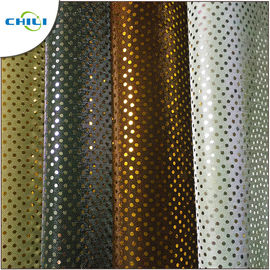 China good quality Multi Color Glitter Fabric Sheets , Silver Glitter Fabric Fashionable For Shoes Lining on sales