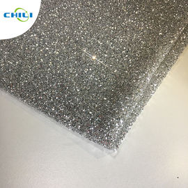 "China Anti Mildew Solid Color Gold Glitter Wallpaper 30 Meters 54/55"" Width factory"