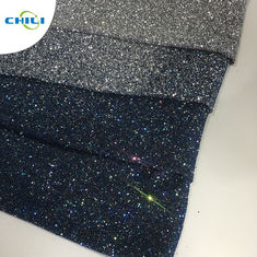 China High Brightness Glitter Wall Fabric , Textured Glitter Wallpaper For Household Room factory