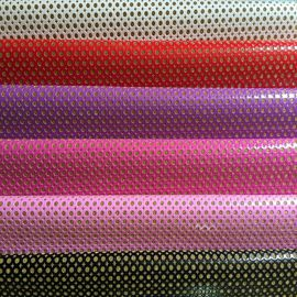 OEM ODM Glitter Wall Fabric , Glitter Fabric Roll Long Durable No Fade