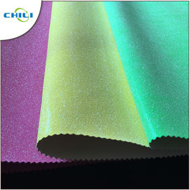 Garment Glitter Effect Wallpaper Fashionable Customized Color Anti Bacteria