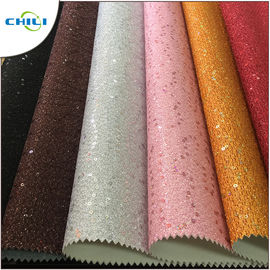 China Low Price Hot Selling Synthetic Leather Material for Ladies Women Shoes factory