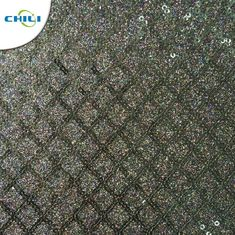China Low Price Hot Selling High Gloss Imitation Glitter Leather For Footwear factory