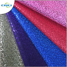 China High Quality Glitter Pu Mesh Good Synthetic Leather For Lady Shoes Meter Price supplier