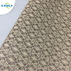 China Artifical Shinning Synthetic Fabric With Glitter Leather For Shoes factory