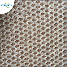 China Bags Furniture Glitter Pvc Vinyl Fabric Easy Cutting Convenient Cleaning factory