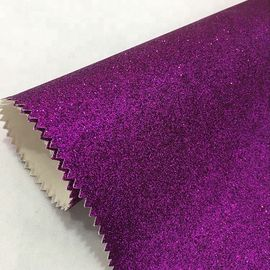 Fashion Textured Glitter Wall Fabric Grade 3 Moisture Proof  Modern Style