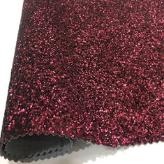 China Fashion Glitter Leather Fabric Popular Design Decoration Uphosltery factory