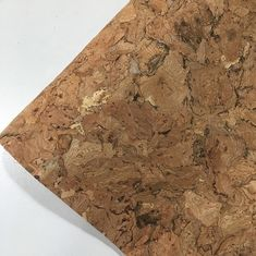 China Flocked Feature Cork Leather Fabric Geometry Synthetic Various Backing Fabric factory