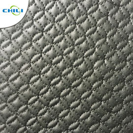 Waterproof Faux Leather Upholstery Fabric Easy Cleaning Quick Drying