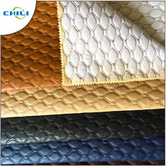 Artificial PVC Leather Fabric Non Woven Long Durability Chunky Elegant