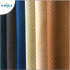 China Waterproof PVC Leather Fabric , PVC Synthetic Leather Chili Brand Reliable supplier