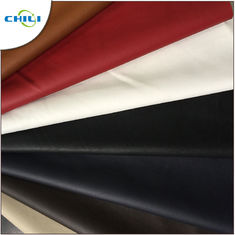 Synthetic Faux Leather Upholstery Fabric Embossed Surface Treatment Durable
