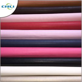 China Rexine Car Seats PU Leather Fabric 0.3±0.1mm Thickness Fashionable factory