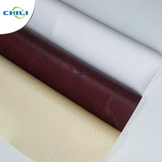 Chair Synthetic Leather Material , PVC Fabric For Clothing Convenient Cleaning