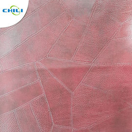 Furniture Sofa PVC Leather Fabric , PVC Upholstery Fabric Well Crafting
