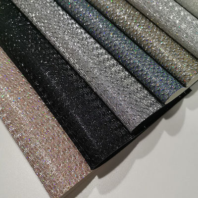 1.0mm Wallpaper 54/55' Anti Mildew Glitter Leather Fabric