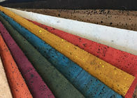 Portugal Cork Leather Fabric Hot Special Design Bread Veins High Color Fastness