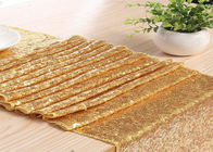 Woven Fabric Table Runner , Thanksgiving Table Runner Romantic Legant supplier