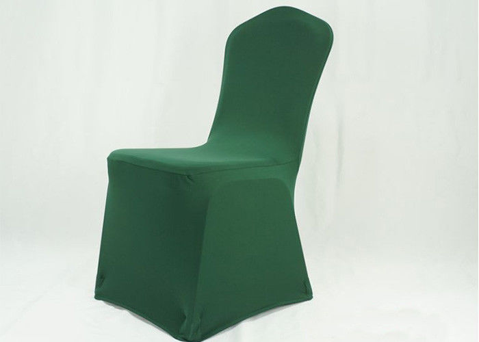 Eco Friendly Banquet Chair Covers 300GSM Spandex Nylon  Hotel Party Banquet Lycra supplier