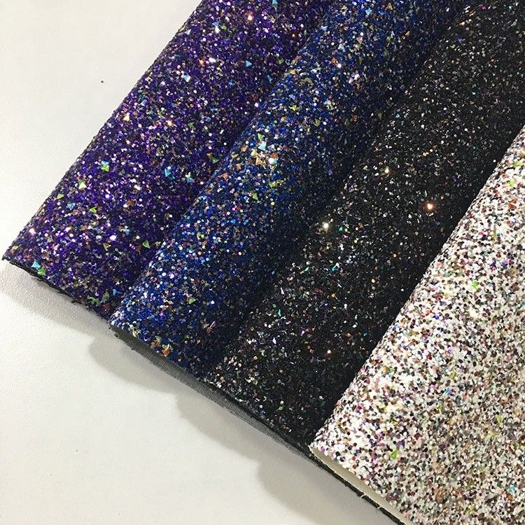 Shiny Glitter Material Fabric Contemporary Design Universal Home Textile supplier
