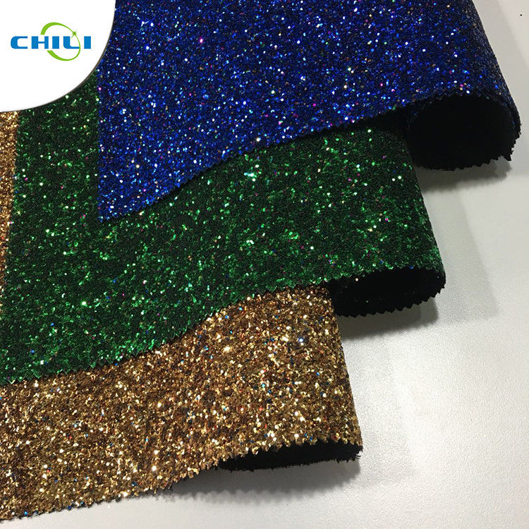 Wide Application Glitter Wall Covering Non Harmful Material Easy Cleaning