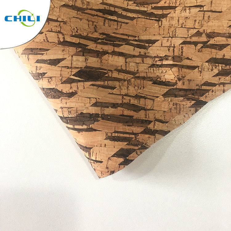 Warm Unique Textured Leather Fabric Decorative Eco Friendly Material Customized Size supplier
