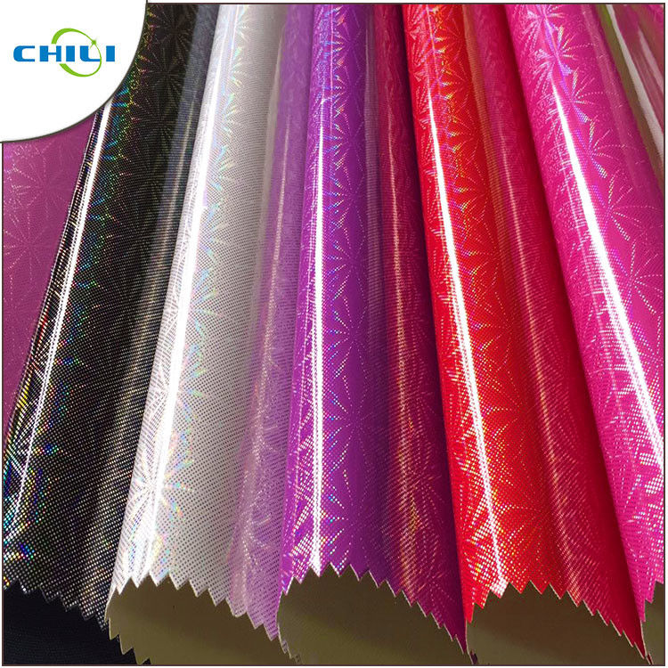 Premium  Flat Thin PU Leather Fabric Cover Paper Luxious Design With Film supplier
