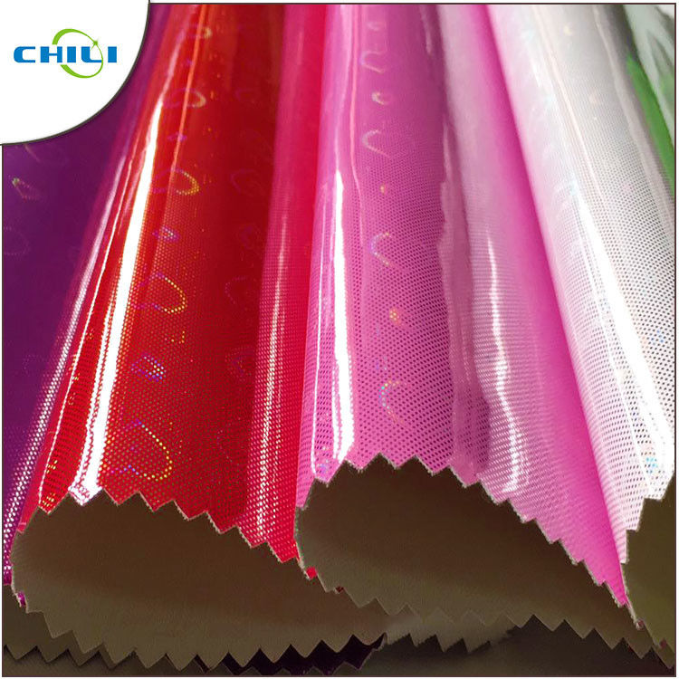 Shining Patent Artificial Leather Fabric Sheets Vinyl Suede Polyurethane Bulk supplier