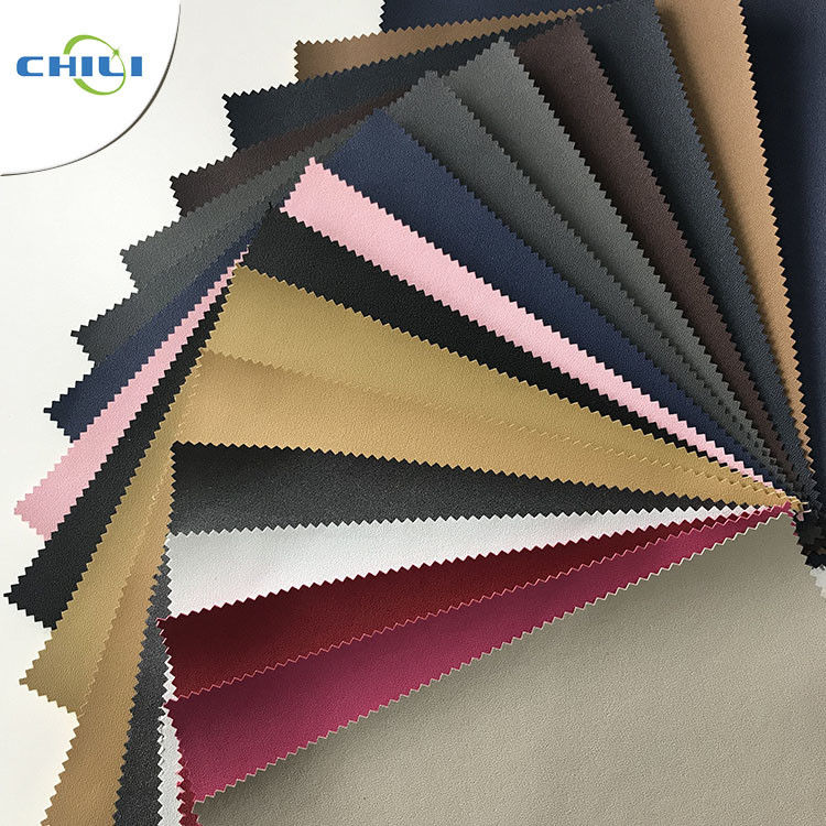Lightweight Plastic Leather Upholstery Fabric Special Edge Design Non Woven supplier