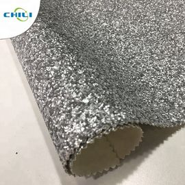 China Non Woven Glitter Wall Fabric , Chunky Glitter Wallpaper Decorative Application factory